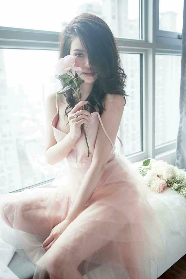 [CN] Elisee Layer Dress ( Hồng )