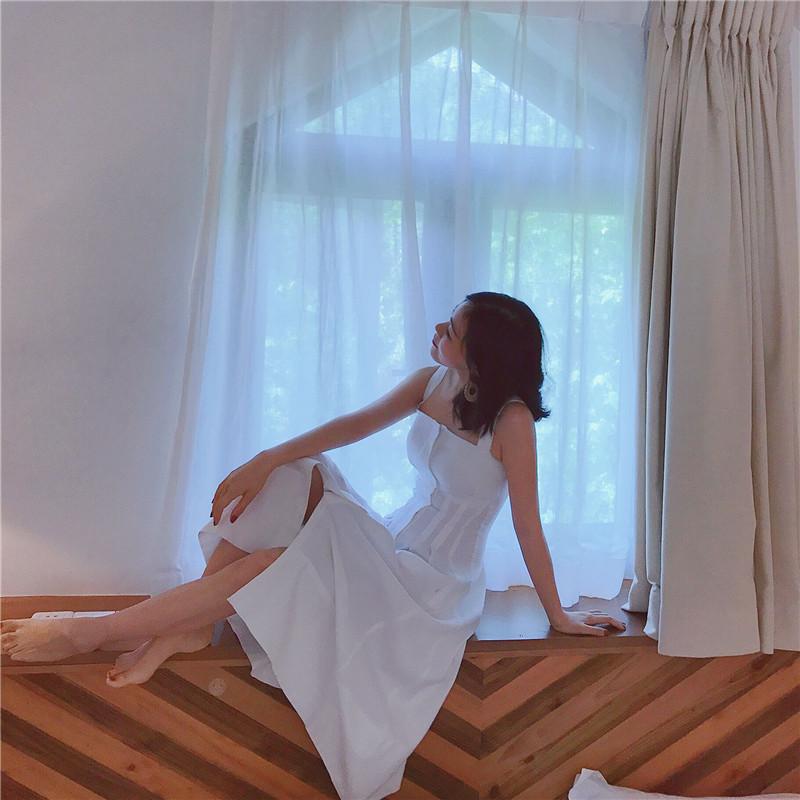 AJIN - Dress (TRẮNG)
