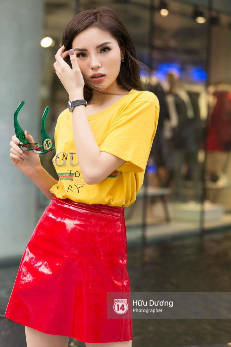 Áo Thun Gucci Chữ (VÀNG) - size L