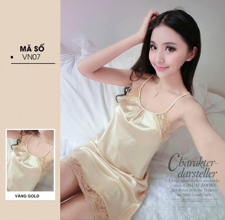 Đầm Ngủ Trơn ( Nude )