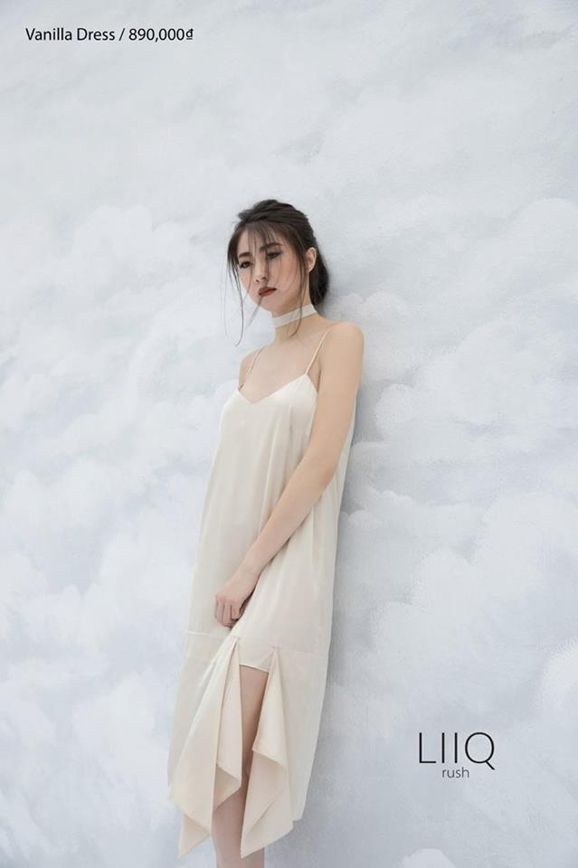 Đầm Ngủ Nude Đắp Tầng Chân