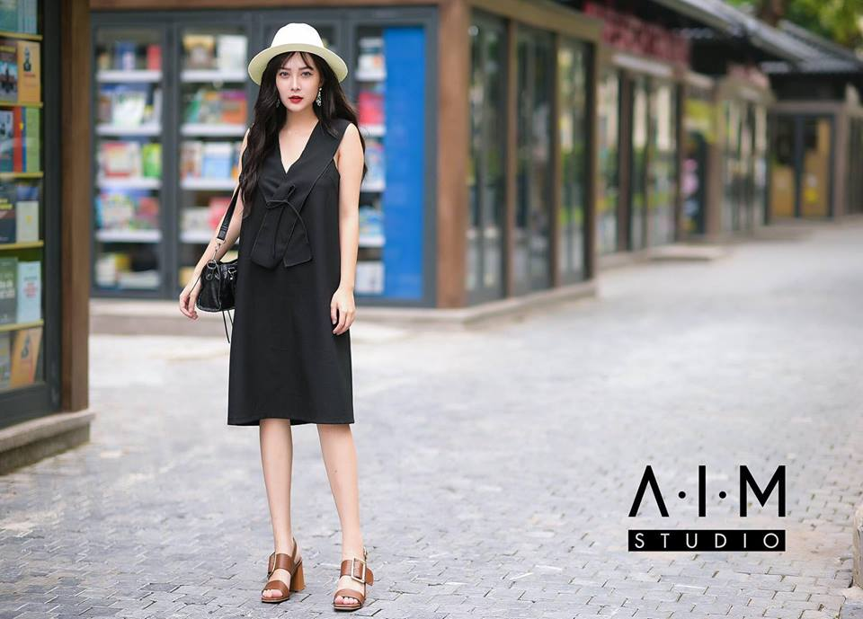 [CT] Plus Dress ( Đen )