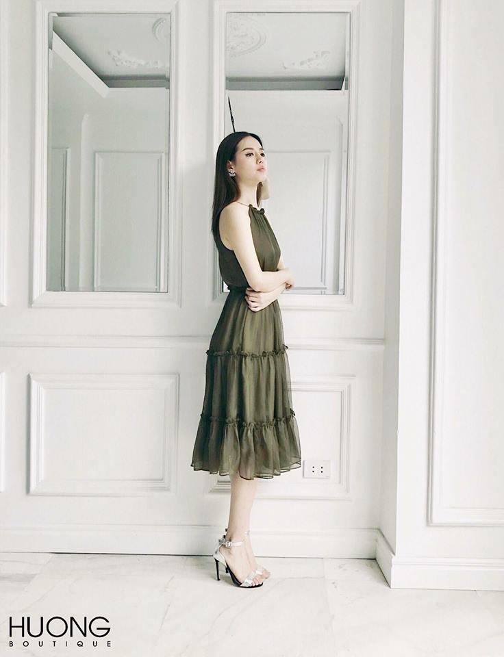 [CN] Cacaco Dress ( Xanh Rêu )