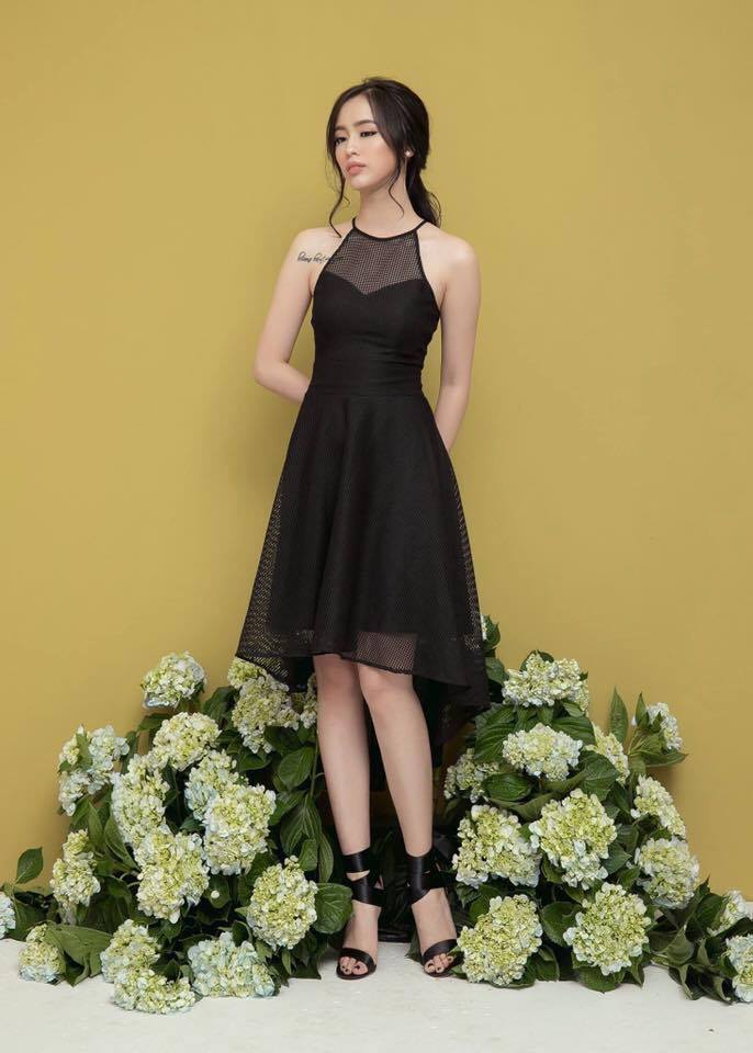 Newblancee Dress (Đen)